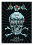 """100 Nights""  commemorative poster by Emek"